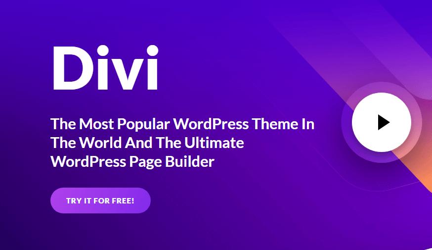 10 raisons d'aimer le thème de WordPress Divi